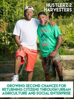 Wallace Kirby and Boe Luther are the Co-Founders of Hustler 2 Harvesters dedicated to creating opportunities to formerly incarcerated brothers & sistersl